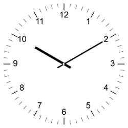 Clock Illustration 10:10